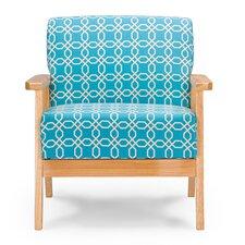 Nunam Retro Mid Century Fabric Armchair by Latitude Run