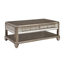 Dorcey Coffee Table with Magazine Rack by House of Hampton