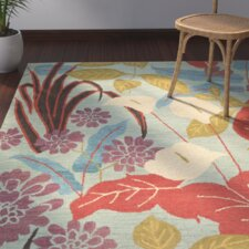 Find for Dixie Blue Floral Area Rug