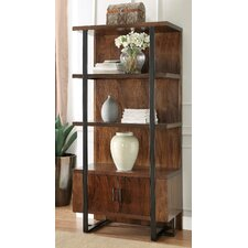 Colton 76 Accent Shelves Bookcase by Loon Peak