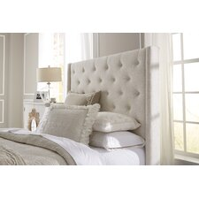 Fares Upholstered Wingback Headboard