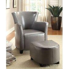 Half Moon Bay Club Chair and Ottoman by A&J Homes Studio