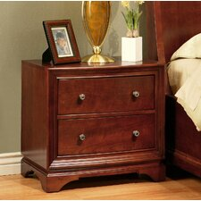 Basche 2 Drawer Nightstand by Darby Home Co®
