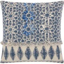 Emile Bohemian 100% Cotton Throw Pillow
