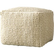 Pure Wool and Cotton Ottoman