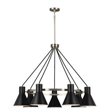 Towner 7-Light Shaded Chandelier