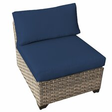 Monterey Armless Sectional Chair with Cushions