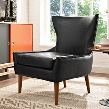 keen Vinyl Side chair by Modway