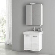Cubical 2 24 Single Bathroom Vanity Set by ACF Bathroom Vanities