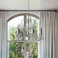 Dupre 5 Light Crystal Chandelier