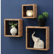 Decorative 3 Piece Accent Shelf Set