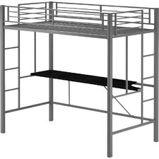 Myrtle Twin Loft Bed with Desk