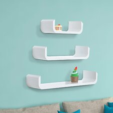 3 Piece Floating Shelf Set