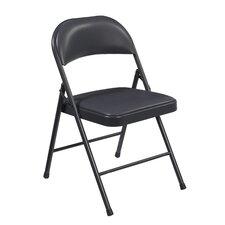 Commercialine Vinyl Padded Folding Chair (Set of 4)