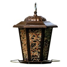 Carriage Lantern Hopper Bird Feeder