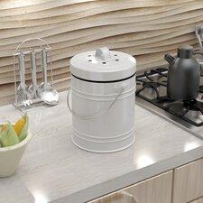 Oversized 1.3 Gallon Kitchen Composter