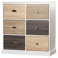 Tunney Storage 6 Door Accent Cabinet