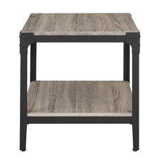 Arboleda Rustic Wood End Table (Set of 2)