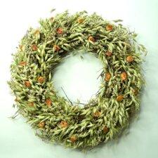 30cm Dried Oats Wreath