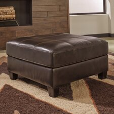 Stouffer Leather Ottoman by Red Barrel Studio