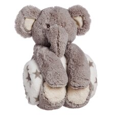 Gerald Cuddly Elephant Stuffed Animal Blanket Gift Set