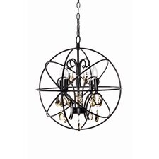 Alden 4-Light Candle-Style Chandelier