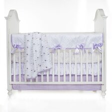 Sweet Pea 4 Piece Crib Bedding Set