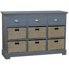 Harriet 3 Drawer 6 Basket Chest