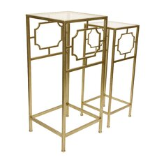 Fletcher 2 Piece Accent Table Set by House of Hampton