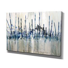 'Marshes Edge' by Susan Jill Framed Painting Print on Wrapped Canvas