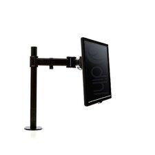 "Single Articulating/Extending Arm Desktop Mount for 13""-27"" Flat Panel Screens"