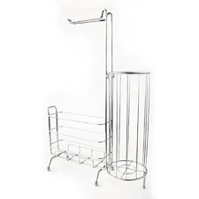 WC Caddy Freestanding Toilet Paper Holder