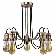 5 Light Branched Chandelier