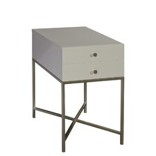 Allyson Chairside Table by Latitude Run