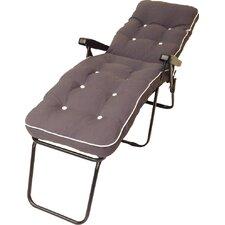 Milan Sun Lounger with Cushion