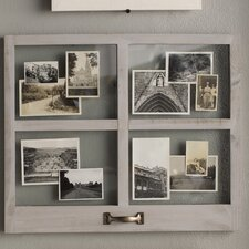 4 opening distressed floating collage frame