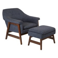 Flynton Lounge Chair and Ottoman