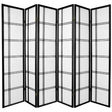 70 x 84 Boyer 6 Panel Room Divider by Mistana