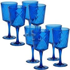 Diamond Acrylic 20 Oz. All Purpose Wine Glass (Set of 8)