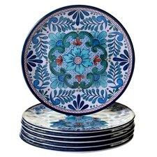 "Talavera 9"" Heavy Weight Melamine Salad Plate (Set of 6)"