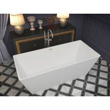 Cenere 58.25 x 26.4 Freestanding Soaking Bathtub by ANZZI
