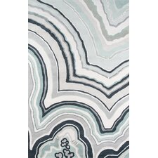 Agate Hand-Tufted Blue/Gray Area Rug