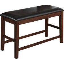 Wooden Upholstered Dining Bench by Best Quality Furniture