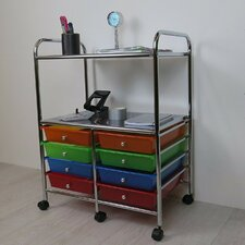 Aspen 8 Drawer Storage Trolley