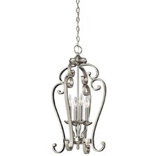 Greenwald Metal 4-Light Candle-Style Chandelier