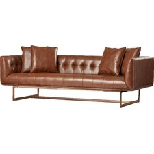 Matisse Leather Chesterfield Sofa