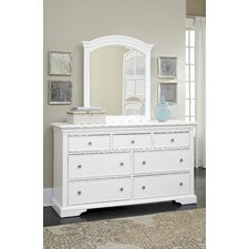 Tracy 7 Drawer Double Dresser