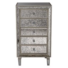 5 Drawer Accent Chest by Heather Ann Creations