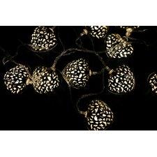 10 Light LED Heart Novelty String Light