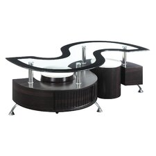 Jonathan 3 Piece Coffee Table Set